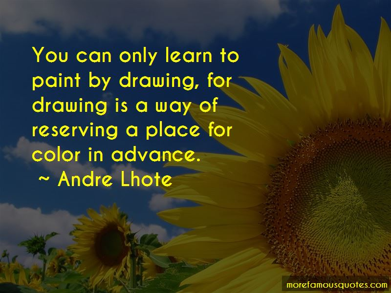 Andre Lhote Quotes