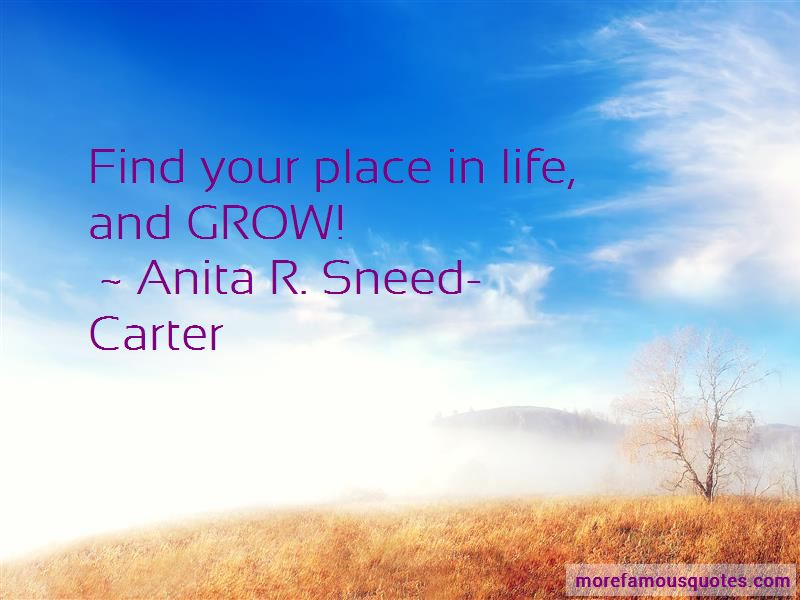 Anita R. Sneed-Carter Quotes Pictures 4