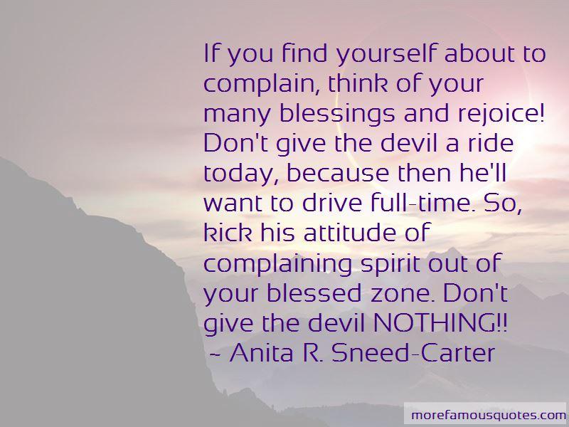 Anita R. Sneed-Carter Quotes