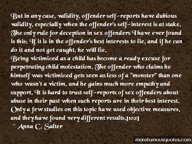 Anna C. Salter Quotes Pictures 2