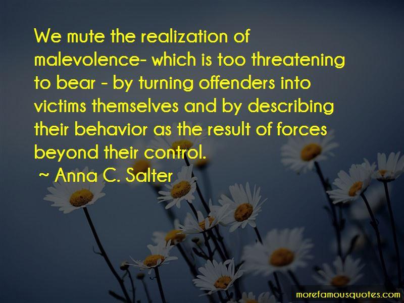 Anna C. Salter Quotes Pictures 3