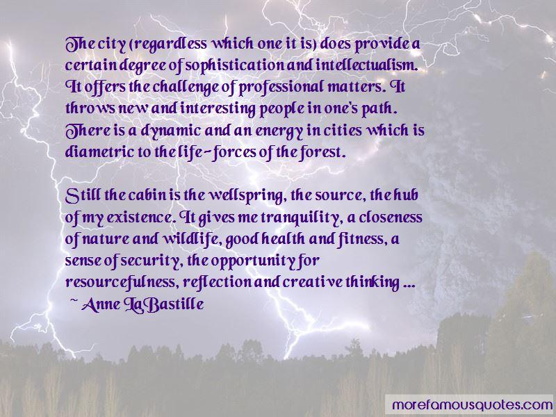 Anne LaBastille Quotes Pictures 3