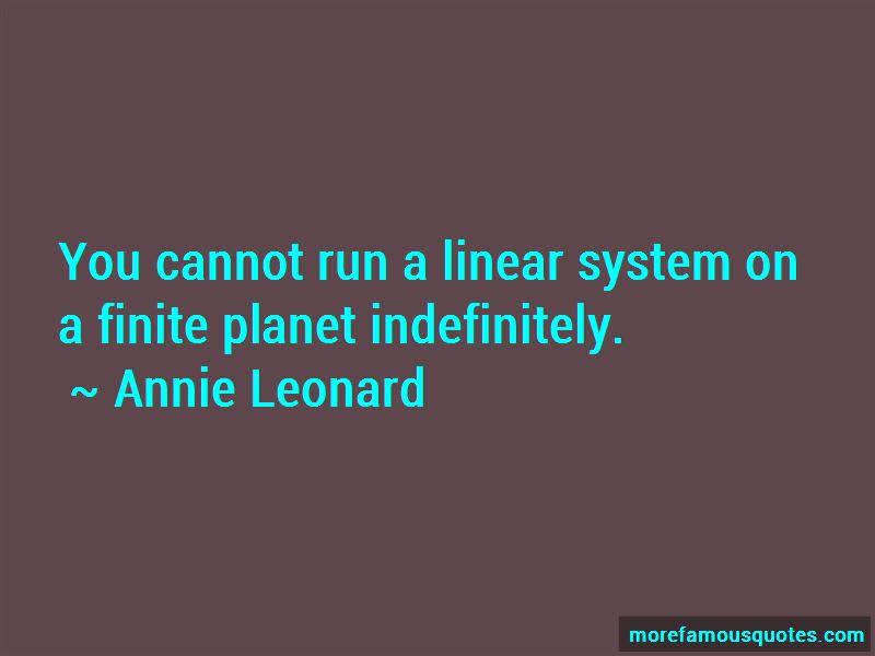 Annie Leonard Quotes Pictures 2
