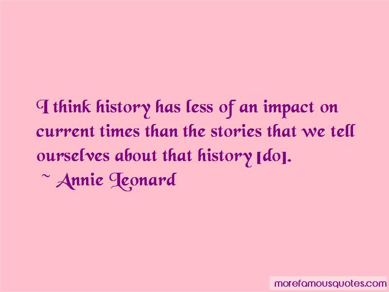 Annie Leonard Quotes Pictures 3
