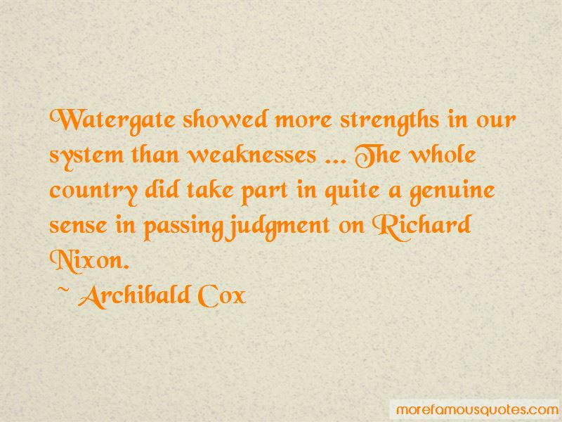 Archibald Cox Quotes Pictures 2