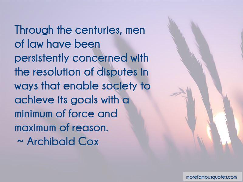 Archibald Cox Quotes Pictures 3