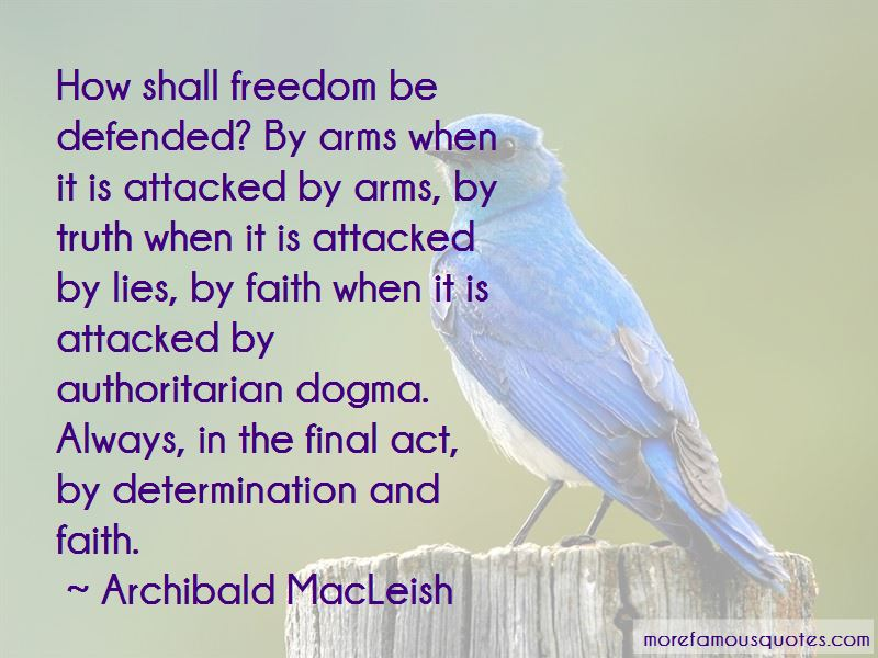 Archibald MacLeish Quotes Pictures 3