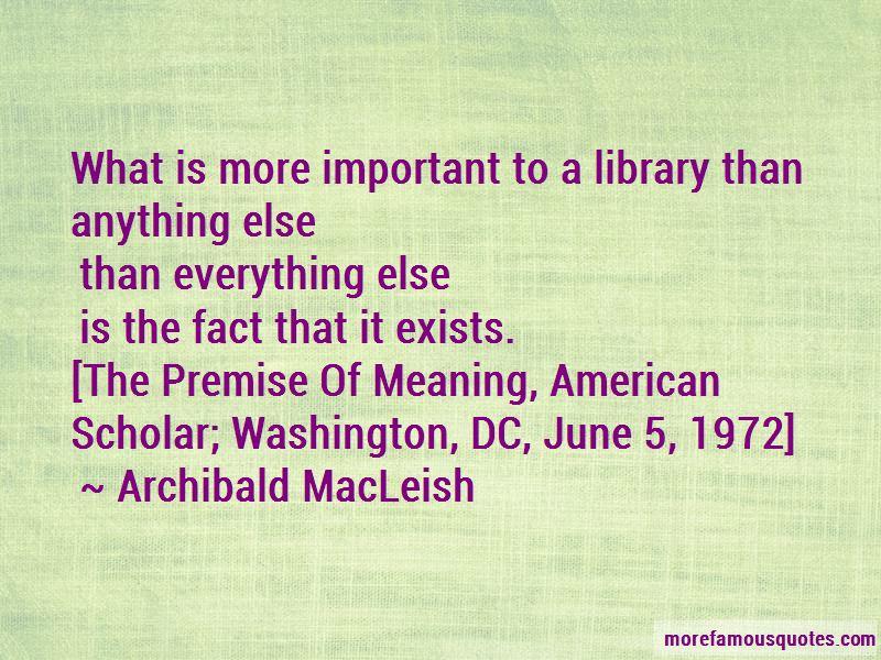 Archibald MacLeish Quotes