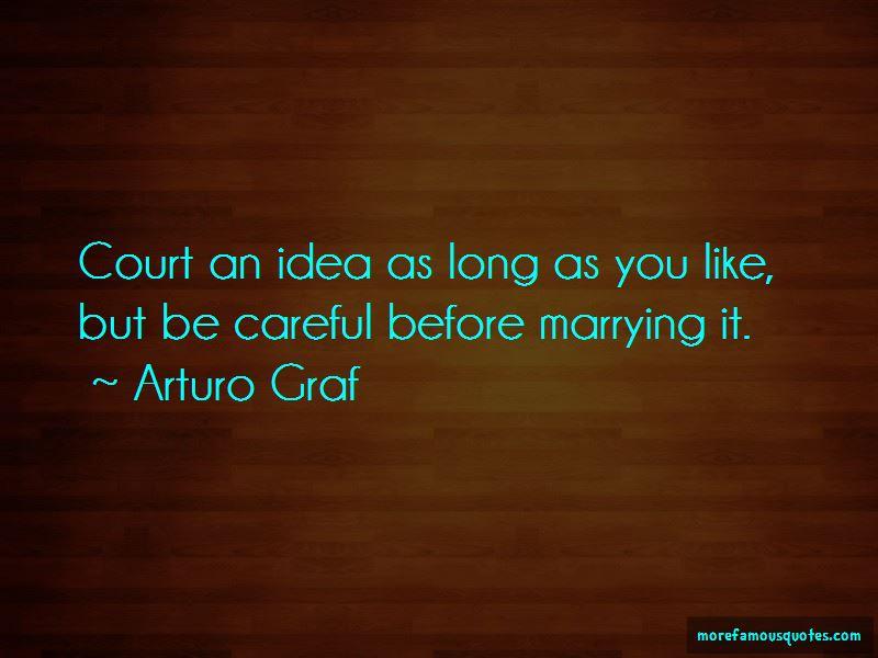 Arturo Graf Quotes