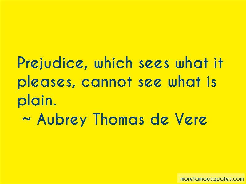 Aubrey Thomas De Vere Quotes