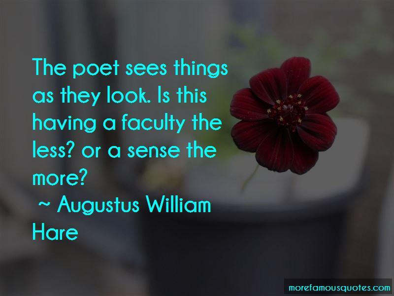 Augustus William Hare Quotes