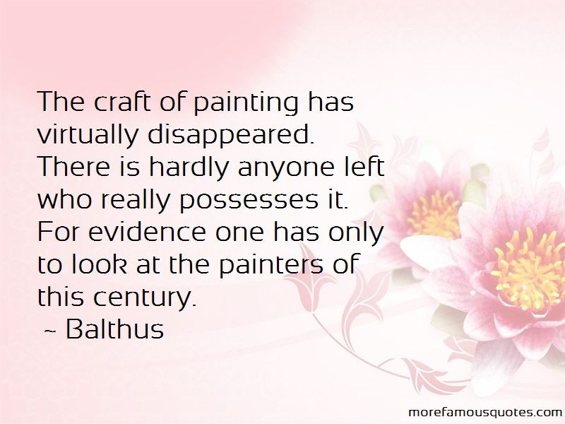 Balthus Quotes Pictures 2