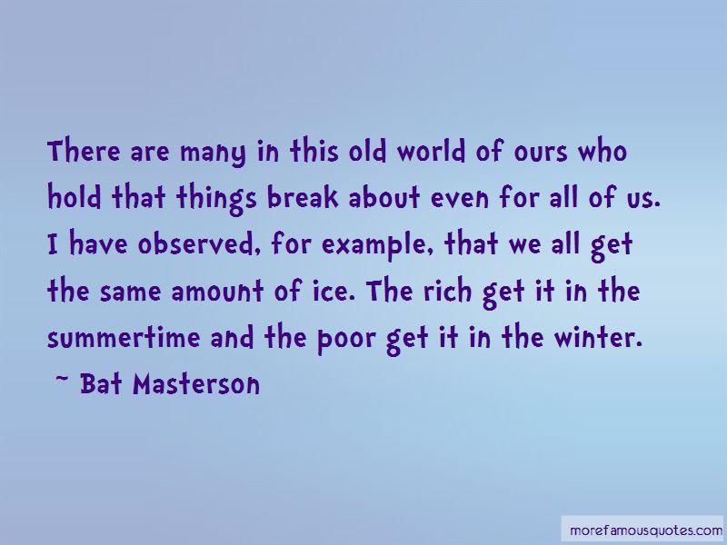 Bat Masterson Quotes Pictures 4