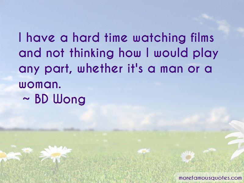 BD Wong Quotes