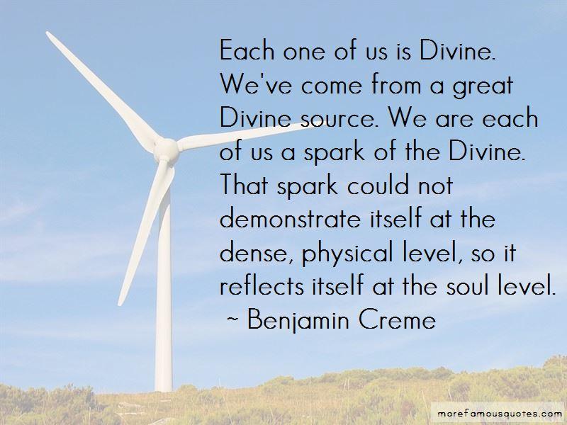 Benjamin Creme Quotes Pictures 2