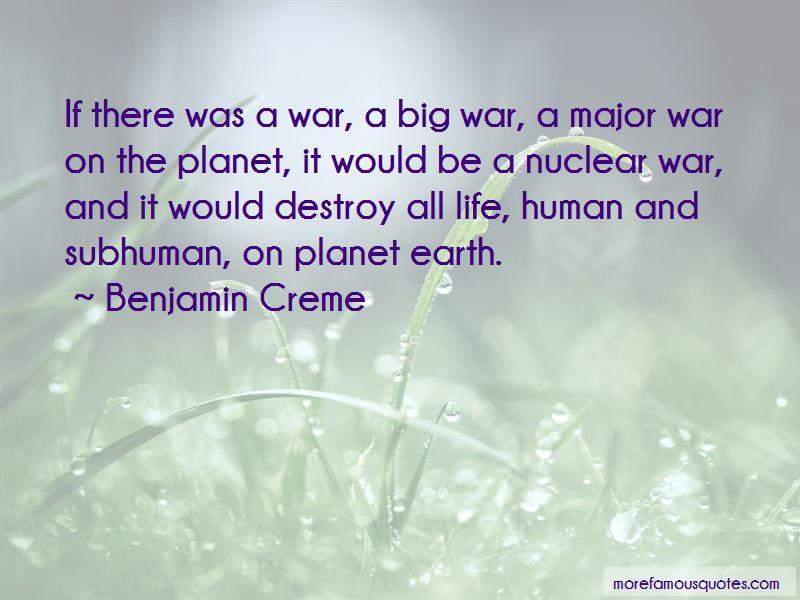 Benjamin Creme Quotes Pictures 3