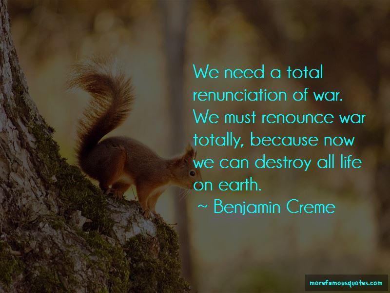 Benjamin Creme Quotes