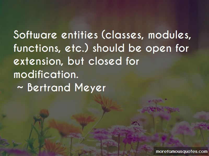 Bertrand Meyer Quotes Pictures 3