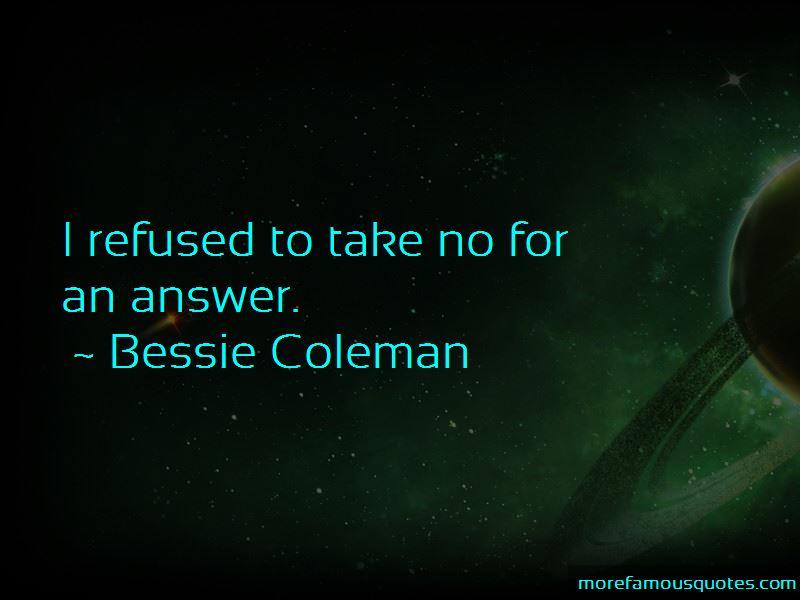 Bessie Coleman Quotes Pictures 3