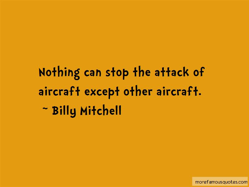 Billy Mitchell Quotes