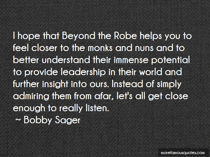 Bobby Sager Quotes