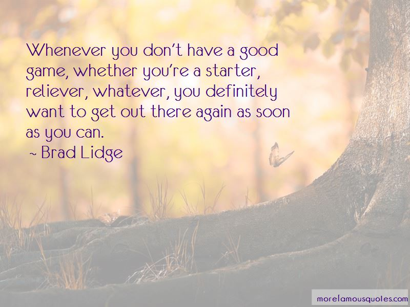 Brad Lidge Quotes Pictures 3