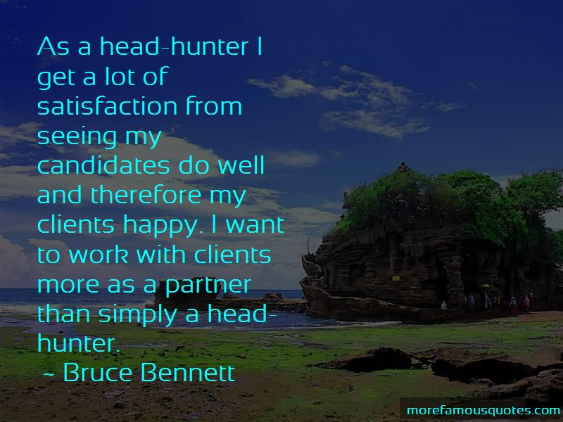 Bruce Bennett Quotes Pictures 2