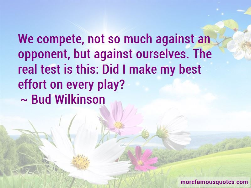 Bud Wilkinson Quotes Pictures 2
