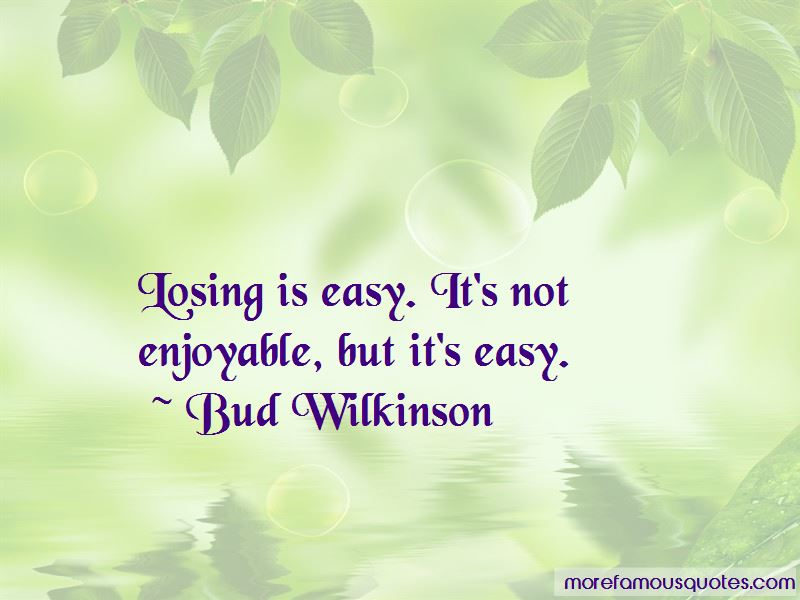 Bud Wilkinson Quotes Pictures 3