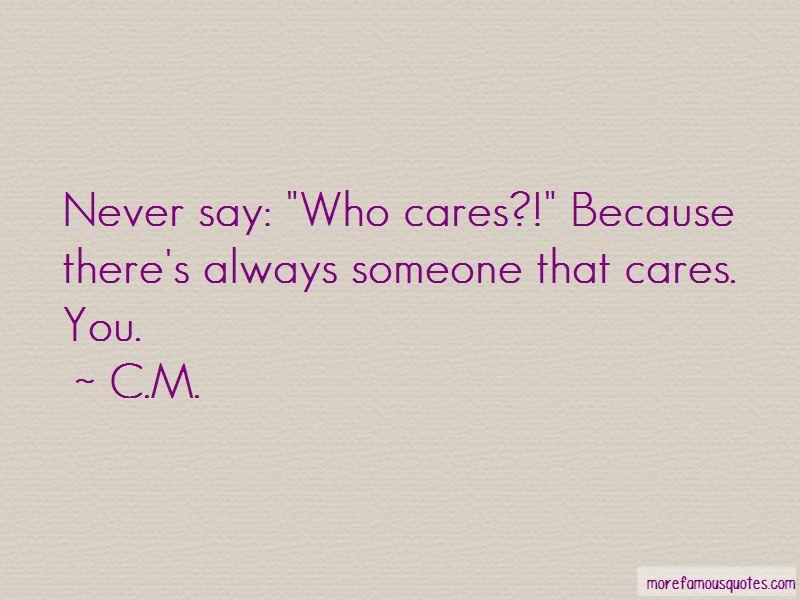 C.M. Quotes Pictures 4