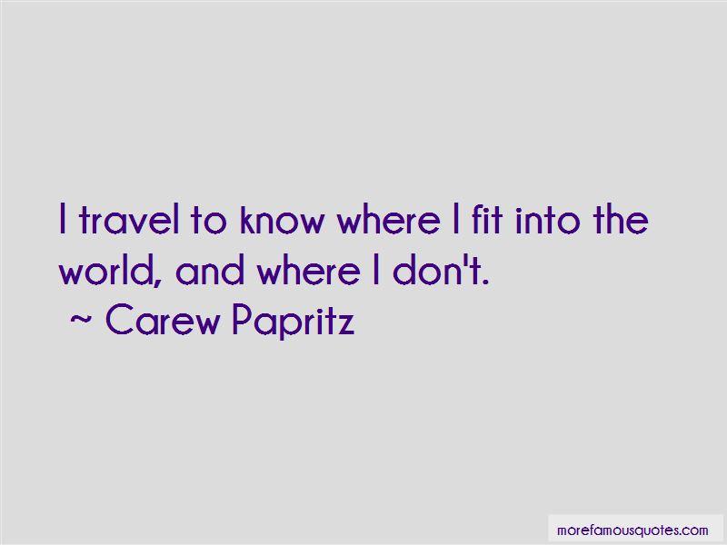 Carew Papritz Quotes Pictures 3