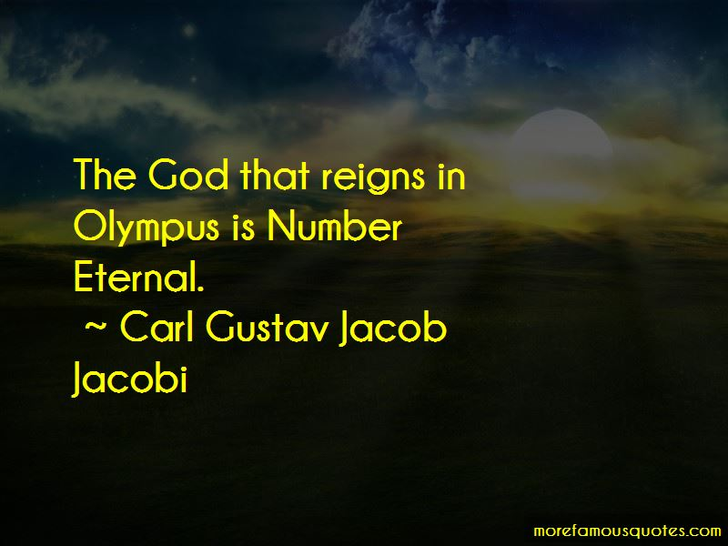 Carl Gustav Jacob Jacobi Quotes Pictures 2