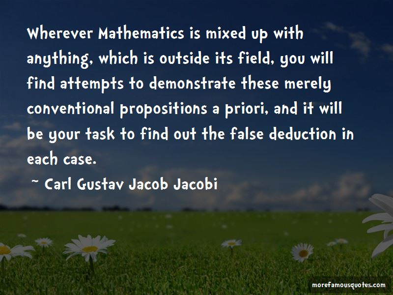 Carl Gustav Jacob Jacobi Quotes Pictures 3