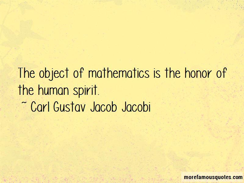 Carl Gustav Jacob Jacobi Quotes Pictures 4