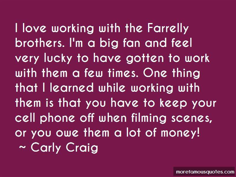 Carly Craig Quotes Pictures 2