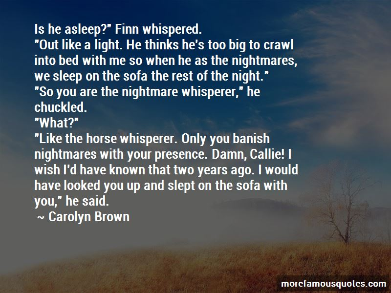 Carolyn Brown Quotes Pictures 2