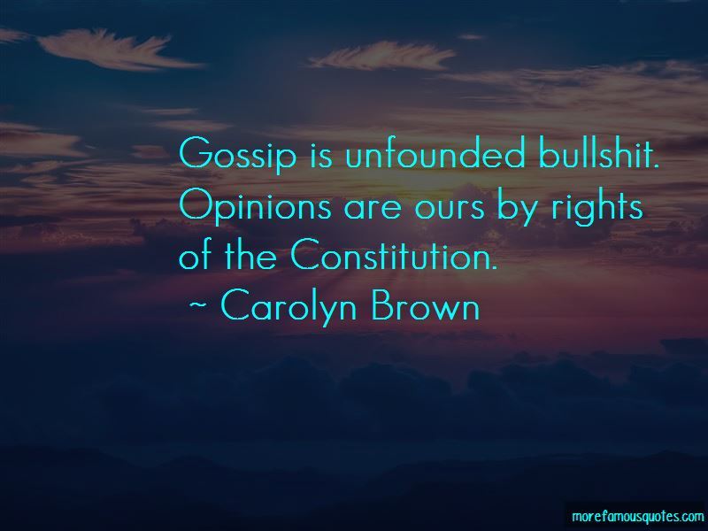 Carolyn Brown Quotes Pictures 3