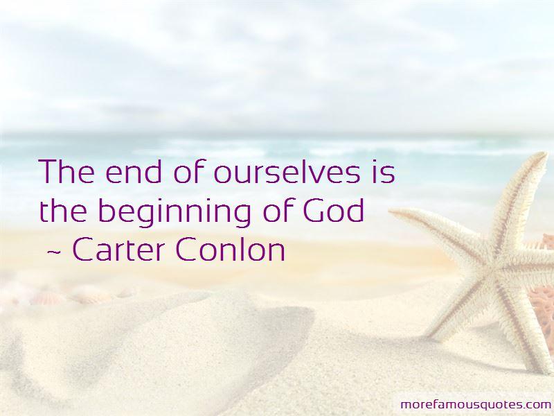 Carter Conlon Quotes