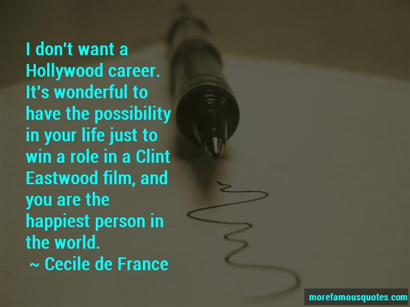Cecile De France Quotes Pictures 3