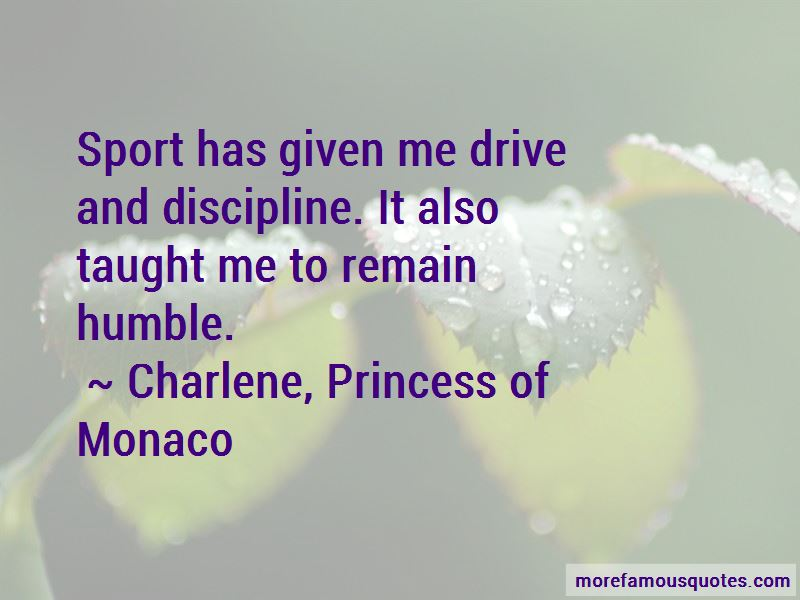 Charlene, Princess Of Monaco Quotes Pictures 2