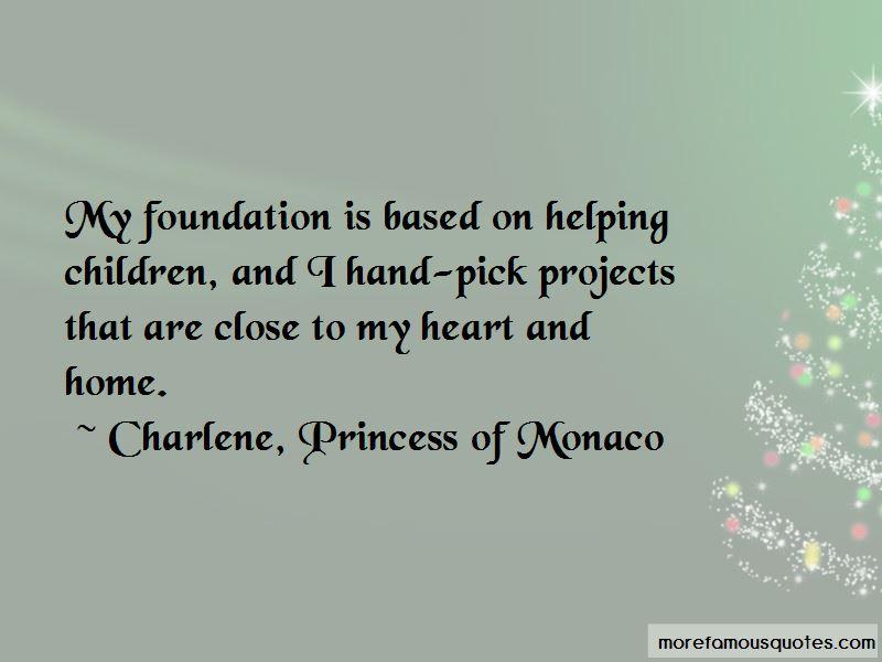 Charlene, Princess Of Monaco Quotes Pictures 3