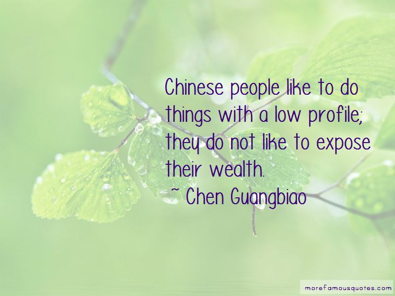 Chen Guangbiao Quotes