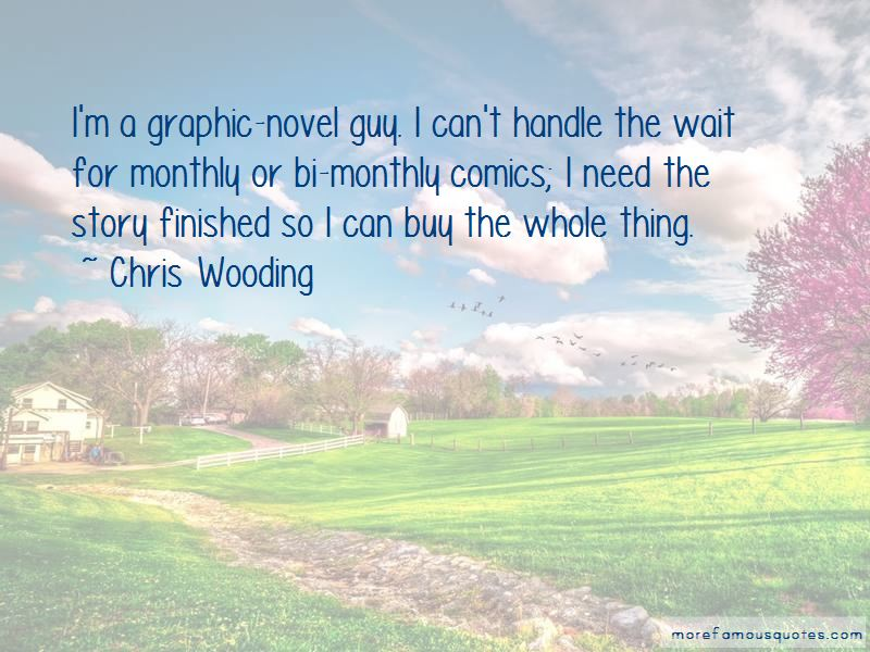 Chris Wooding Quotes Pictures 2