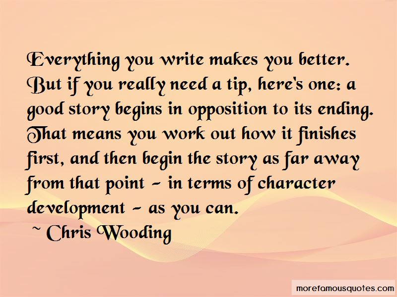 Chris Wooding Quotes Pictures 3