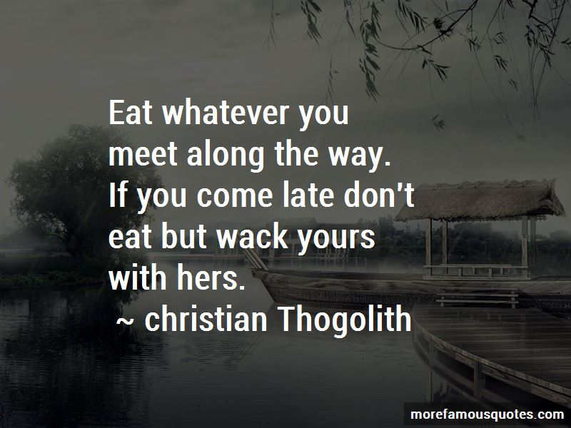 Christian Thogolith Quotes Pictures 2