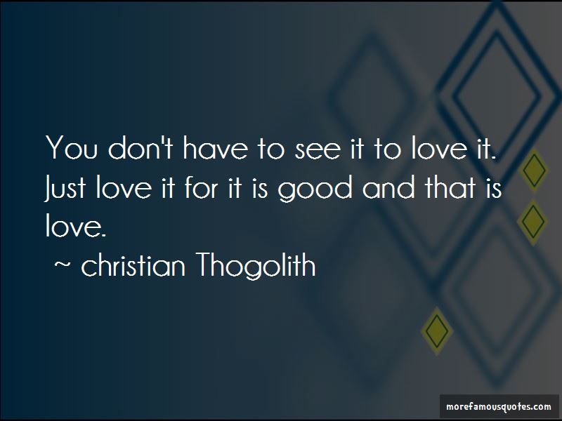 Christian Thogolith Quotes Pictures 4