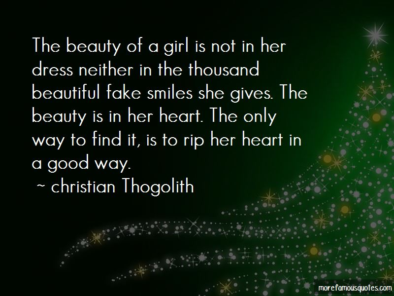 Christian Thogolith Quotes