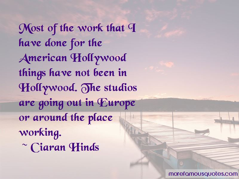 Ciaran Hinds Quotes Pictures 2