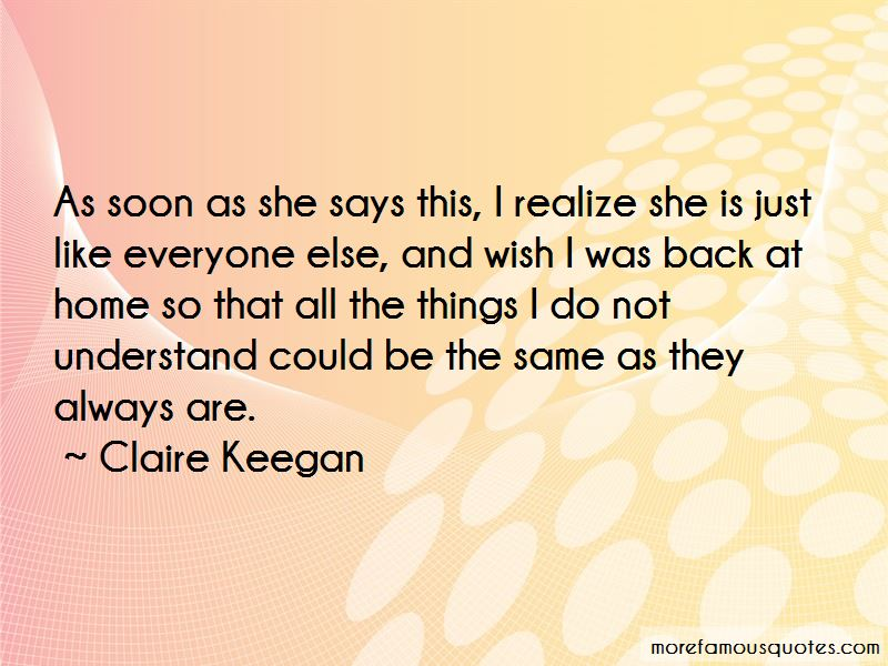 Claire Keegan Quotes