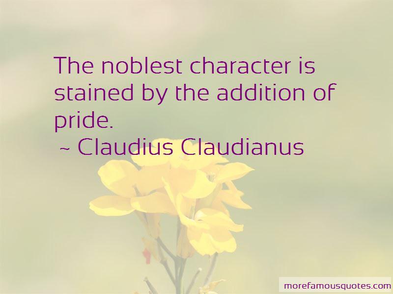 Claudius Claudianus Quotes